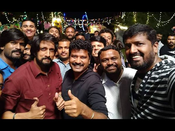 The Villain kannada movie shooting is complete