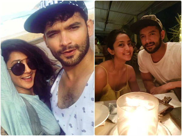 Aindrita Ray and Diganth in sixth sense show