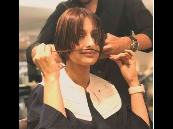 Sonali Bendres brave haircut video shows she is ready to battle cancer