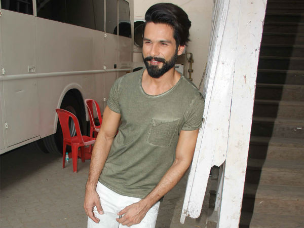 Shahid Kapoor is acting as a hero in hindi remake of Arjun Reddy.