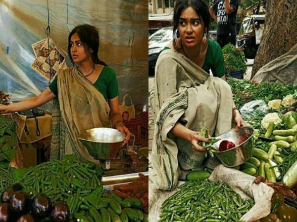 ಬೀದಿಬದಿಯಲ್ಲಿ ತರಕಾರಿ ಮಾರಿದ ಪುನೀತ್ ರಾಜ್ ಕುಮಾರ್ ನಾಯಕಿ.!