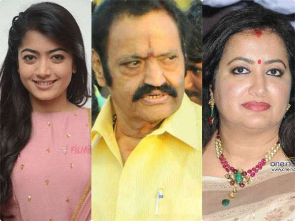 rashmika mandanna and sumalatha ambareesh tweets about nandamuri harikrishna death