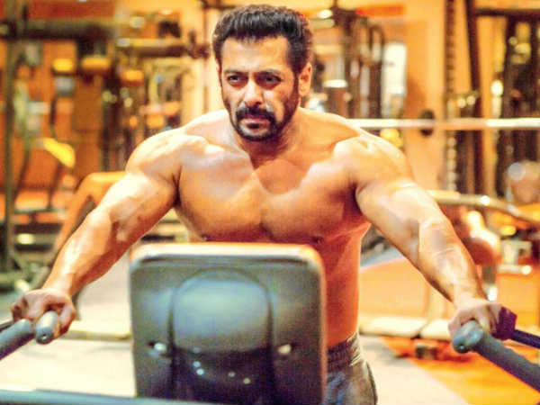 Watch video: Salman Khan completes fitness challenge