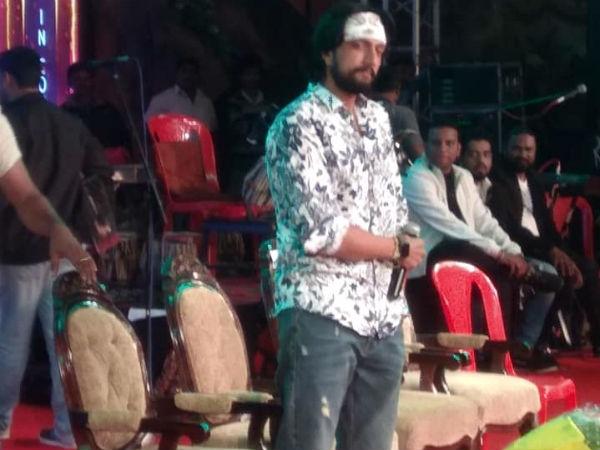 ಚುಂಚನಕಟ್ಟೆ ಜಲಪಾತೋತ್ಸವದಲ್ಲಿ ನಟ ಸುದೀಪ್