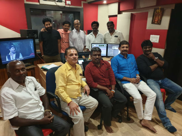 udgarsha cinema Tamil and Kannada dubbing has been completed.