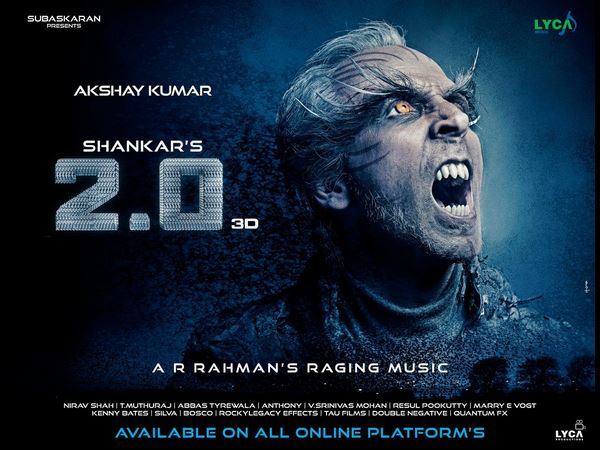 Rajinikanths 2.0 teaser released