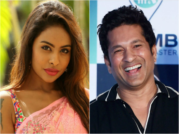 Sri reddy controversial Comment on sachin tendulkar