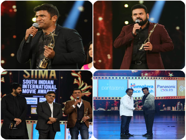 SIIMA 2018 Kannada: Raajakumara wins 5 Awards