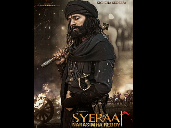 Sudeep look from SyeRaa Narasimha Reddy is out