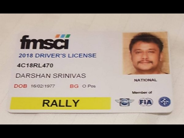 Darshan has received His Driving Licence