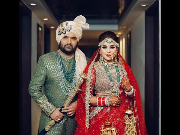 Kapil Sharma, Ginni Chatrath are married