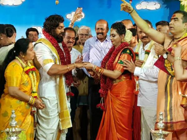 'ಅದ್ಧೂರಿ'ಯಾಗಿ ನಿಶ್ಚಿತಾರ್ಥ ಮಾಡಿಕೊಂಡ 'ಭರ್ಜರಿ' ಹುಡುಗ