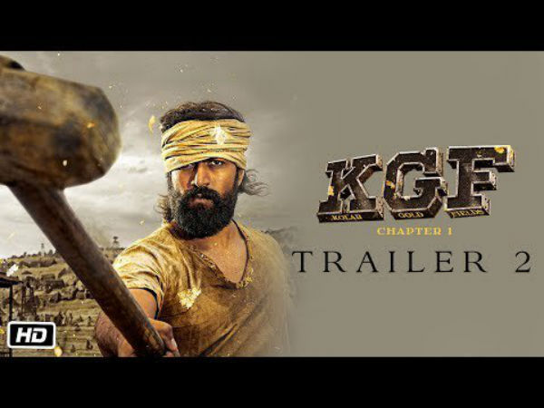 KGF Trailer 2 kannada will release today
