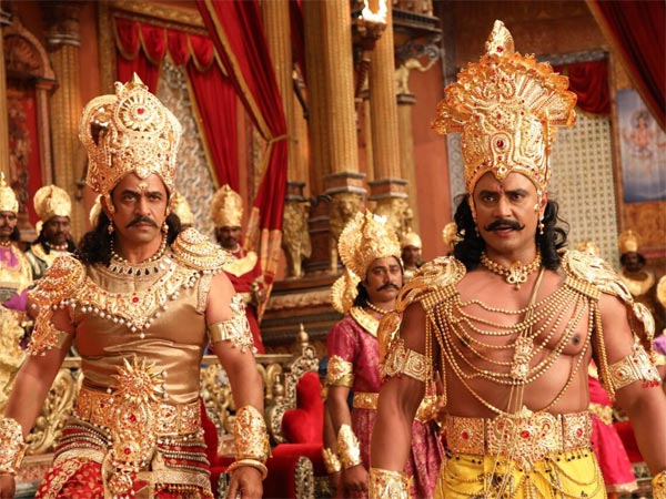 Darshan starrer Kurukshetra is likely to get released in April 2019