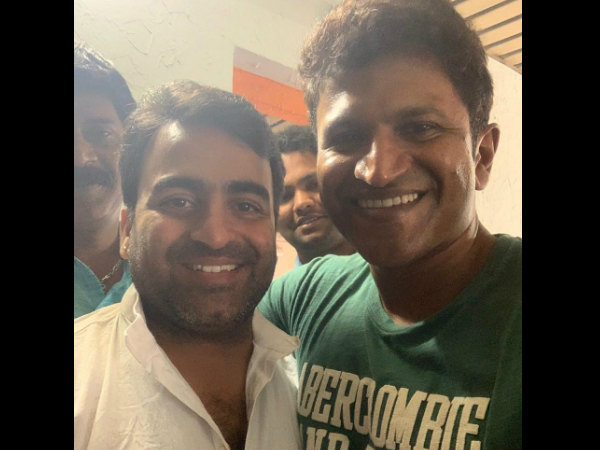 puneeth rajkumar sings for master anand