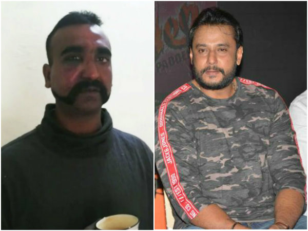 wing commander abhinandan is real hero said actor darshan