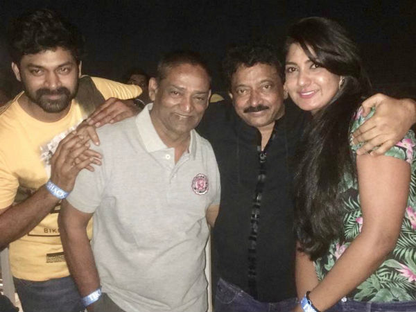 lakshmis ntr movie success party