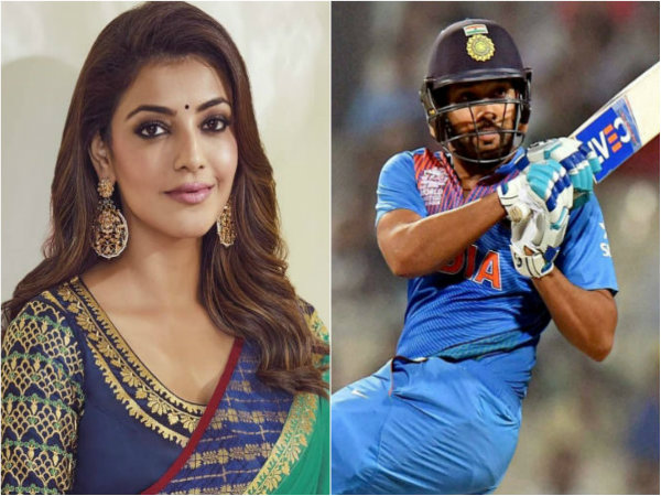 Kajal aggarwal was crush on this indian cricketer