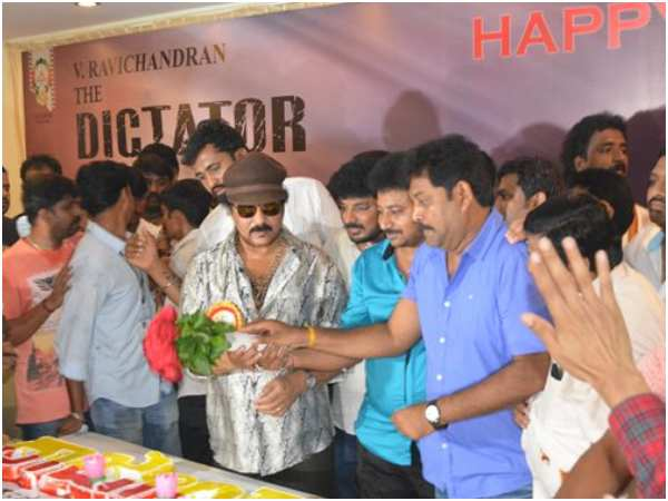 actor ravichandran will not celebrate his birthday this year