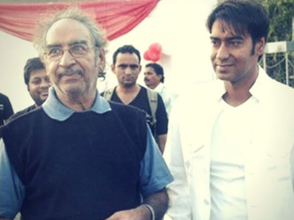 Ajay devgan father Veeru Devgan has passed away in Mumbai