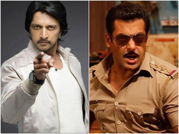 Kiccha Sudeep joins Dabangg-3 sets on this saturday