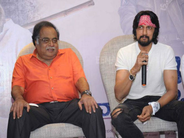 Sudeep emotional tweeted about Ambareesh 67th birthday