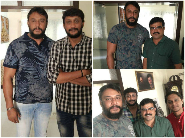 darshan watched takkar movie teaser