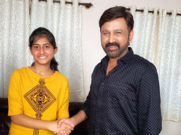 ramesh aravind started a new series called shake hand with ramesh