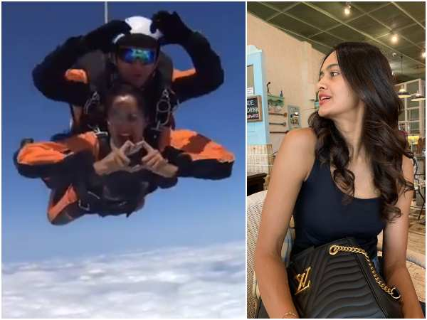 actress shubra aiyappa has done skydiving