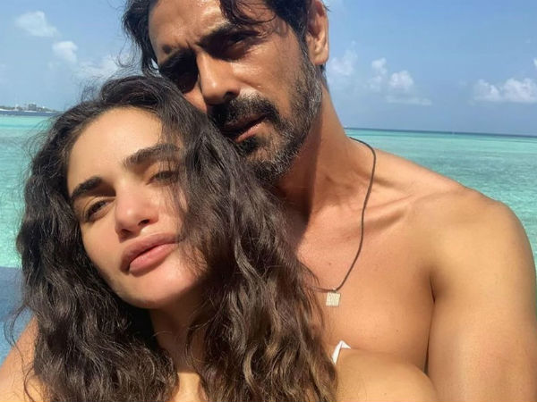 Ajun rampal and Gabriella Demetriades welcome baby boy
