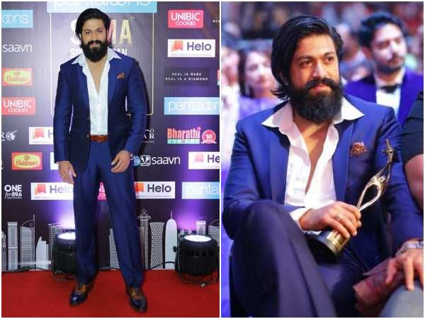 Yash Got Style Icon Award in Siima 2019