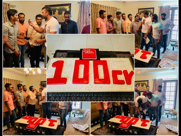 Darshan Celebrates Kurukshetra 100 Crore Collection