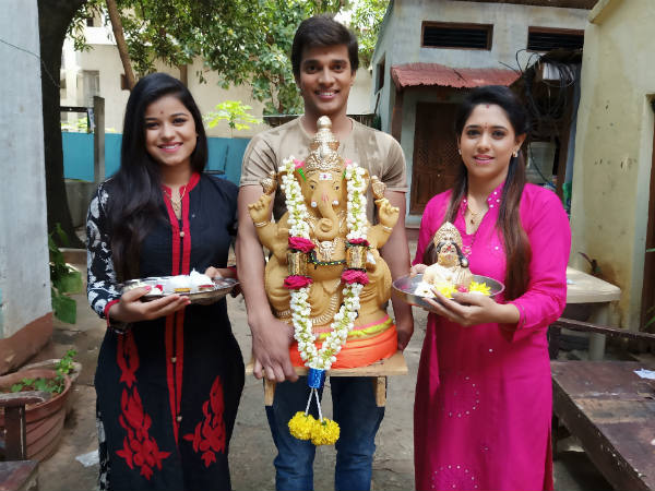 Turns and Twist In Udaya Tv Serials For Ganesh Chaturthi Special