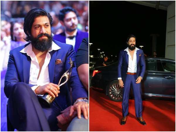 Yash Got Best Actor Siima Award 2019 For KGF