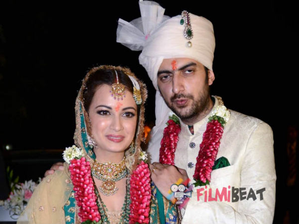 Dia Mirza and Sahil sangha Got Divorced