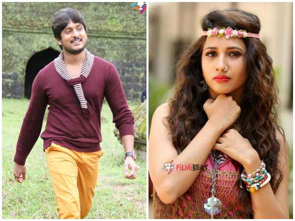Actor Ajay Rao And Manvitha Kamath Starrer New Film Titled Rainbow