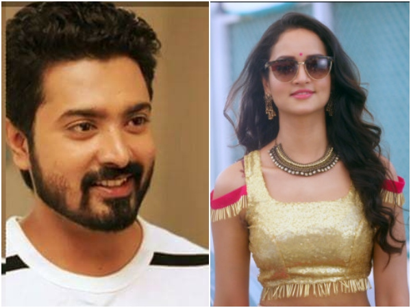 Actress Shanvi Srivastava Playing Lead Opposite Actor Skanda Ashok For Ranangan