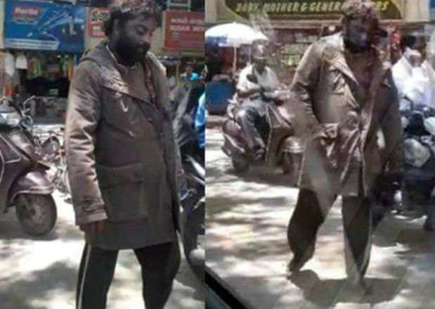 Huccha Venkat Rounding in Chennai Without Slipper