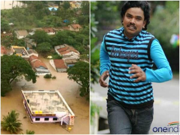 ಉತ್ತರ ಕರ್ನಾಟಕ ನೆರೆ ಸಂತ್ರಸ್ಥರಿಗೆ 2 ಲಕ್ಷ ನೀಡಿದ 'ಬರ್ನಿಂಗ್ ಸ್ಟಾರ್'