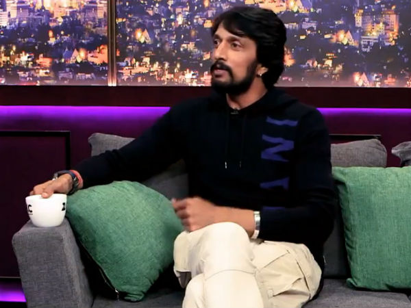 Sudeep Participated in Zee Etc Interview