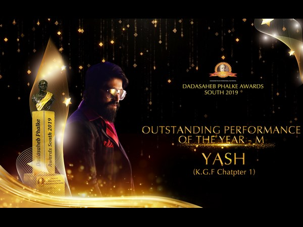 Yash Got Dadasaheb Phalke South 2019 Award