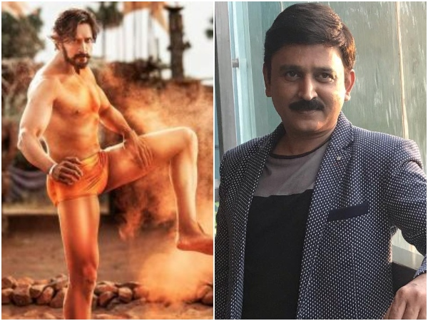 Kannada Actor Ramesh Aravind Gave Voice For Sudeep Starrer Pailwaan Film