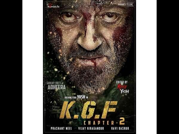 Kannada Actor Yash Starrer KGF-2 Fan Made Poster Viral In Social Media