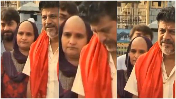 ತಿರುಪತಿ ತಿಮ್ಮಪ್ಪನಿಗೆ ಮುಡಿ ಕೊಟ್ಟ ಶಿವರಾಜ್ ಕುಮಾರ್ ಪತ್ನಿ ಗೀತಾ