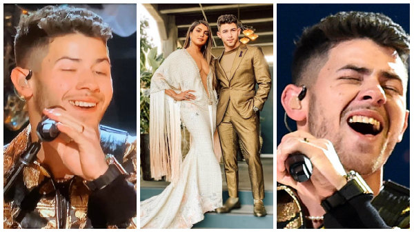 Nick Jonas trolled for performing at the Grammys with food in his teeth