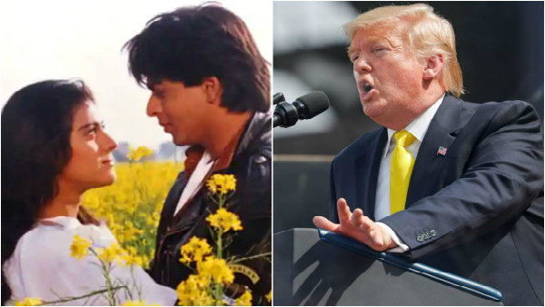 America President Donald Trump Mentions DDLJ Name In Speech