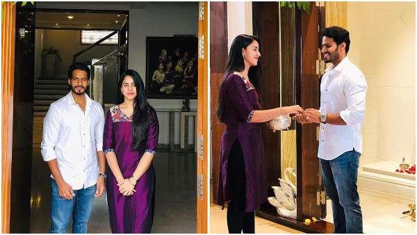 ಲಾಕ್ ಡೌನ್ ನಡುವೆಯೂ ಭಾವಿ ಪತ್ನಿ ಭೇಟಿಯಾದ ನಿಖಿಲ್: ಇದೇಗೆ ಸಾಧ್ಯ ಎಂದು ನೆಟ್ಟಿಗರ ಪ್ರಶ್ನೆ