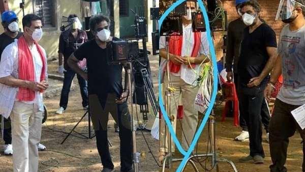 ಲಾಕ್ ಡೌನ್ ನಡುವೆಯೂ ಅಕ್ಷಯ್ ಕುಮಾರ್ ಚಿತ್ರೀಕರಣ: ಫೋಟೋ ವೈರಲ್