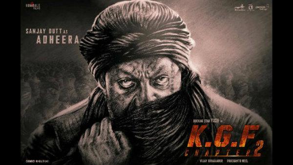 'KGF-2' ಸಂಜಯ್ ದತ್ ಲುಕ್ ಸೋರಿಕೆ: ಹೇಗಿದ್ದಾನೆ ಅಧೀರ ನೋಡಿ