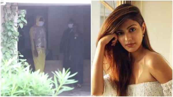 ನಟಿ ರಿಯಾ ಚಕ್ರವರ್ತಿ ಮನೆ ಮೇಲೆ NCB ಅಧಿಕಾರಿಗಳ ದಾಳಿ